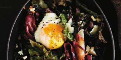 Food, Ingredient, Egg yolk, Cuisine, Breakfast, Dish, Recipe, Egg white, Egg, Cooking,