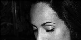 Nose, Lip, Hairstyle, Forehead, Eyebrow, Eyelash, Photograph, Jewellery, Style, Jaw,
