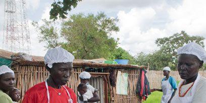 Cuisine, Food, Headgear, Cook, Dish, Finger food, Cooking, Baker, Village, Street food,