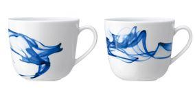 Cup, Serveware, Blue, Drinkware, Porcelain, Dishware, White, Tableware, Ceramic, Aqua,