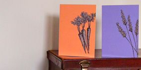 Leaf, Purple, Lavender, Botany, Majorelle blue, Flowering plant, Artifact, Interior design, Plant stem, Paint,