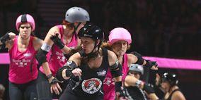 Clothing, Roller skates, Human, Helmet, Sports gear, Fun, Roller sport, People, Roller skating, Quad skates,