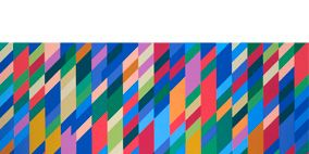 Colorfulness, Blue, Yellow, Green, Pattern, Textile, Red, Orange, Line, Purple,