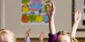 Fun, Finger, Room, Social group, Class, Hand, Happy, Classroom, Community, Facial expression,