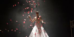 Event, Red, Pink, Dress, Light, Tradition, Fashion, World, Gown, Holiday,