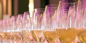 Drinkware, Stemware, Glass, Barware, Fluid, Tableware, Liquid, Wine glass, Drink, Champagne stemware,