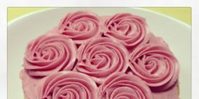 Food, Ingredient, Sweetness, Pink, Dessert, Recipe, Baked goods, Magenta, Snack, Baking,