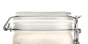 Product, Food storage containers, Line, Metal, Lid, Kitchen appliance accessory, Cylinder, Tin, Silver, Steel,