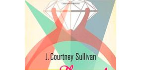 Orange, Peach, Perfume, Advertising, Graphic design, Ribbon,