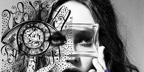 Style, Colorfulness, Art, Black hair, Symbol, Visual arts, Illustration, Graphic design, Graphics,