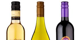 Product, Yellow, Bottle, Glass bottle, Photograph, Liquid, Purple, Line, Logo, Label,