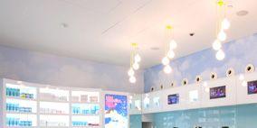 Blue, Product, Room, Interior design, Wall, Ceiling, Floor, Interior design, Azure, Aqua,