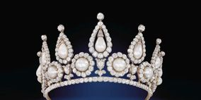White, Style, Fashion accessory, Headgear, Earrings, Metal, Natural material, Black, Jewellery, Crown,