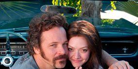 Vehicle door, Interaction, Love, Romance, Gesture, Beard, Friendship, Honeymoon, Windshield, Hug,