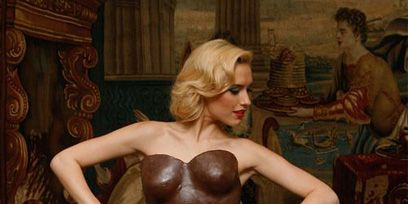 Brown, Trunk, Chest, Abdomen, Sculpture, Artifact, Vase, Painting, Pottery, Lingerie top,