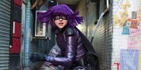 Purple, Fictional character, Animation, Costume, Violet, Fiction, Goth subculture, Leather, Boot, Cosplay,