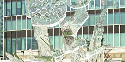 Facade, Art, Urban design, Headquarters, Water feature, Condominium,