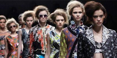 Clothing, People, Hairstyle, Style, Sunglasses, Dress, Fashion model, Pattern, Waist, Street fashion,