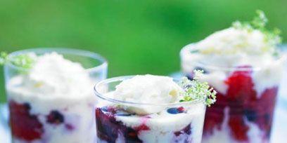 Food, Ingredient, Cuisine, Produce, Dessert, Tableware, Fruit, Cranachan, Sweetness, Dairy,