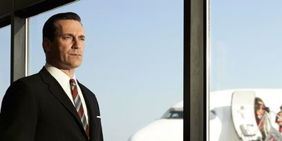 Airplane, Aircraft, Dress shirt, Collar, Suit trousers, Coat, Suit, Outerwear, Standing, Aviation,