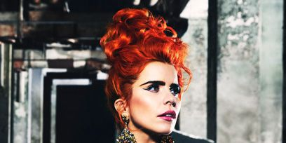 Lip, Hairstyle, Style, Red hair, Fashion, Fashion model, Beauty, Street fashion, Hair coloring, Model,