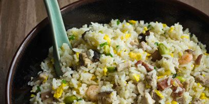 Food, Rice, Cuisine, Recipe, Dish, Staple food, Spiced rice, Ingredient, Jasmine rice, Takikomi gohan,