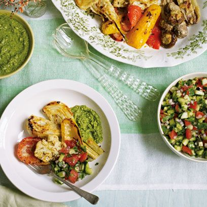 Tandoori Vegetable feast recipe