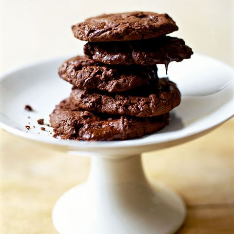 Food, Dish, Chocolate, Dessert, Cookies and crackers, Chocolate brownie, Cuisine, Baked goods, Chocolate chip cookie, Cookie,
