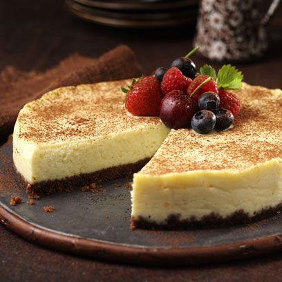 Mary Berrys White Chocolate Cheesecake
