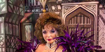 Purple, Costume, Violet, Embellishment, Artificial hair integrations, Makeover, Costume design, Wig, Haute couture, Cg artwork,