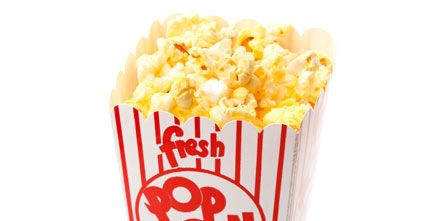 Popcorn, Kettle corn, Yellow, Cuisine, Food, Font, Snack, Junk food, Dish, Recipe,