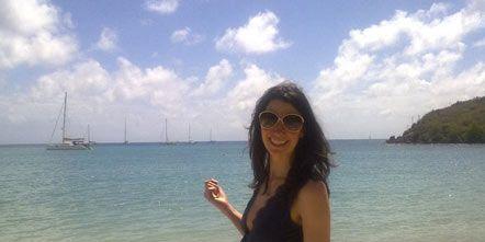 Eyewear, Body of water, Glasses, Coastal and oceanic landforms, Sunglasses, Photograph, Sand, Tourism, Summer, Shore,
