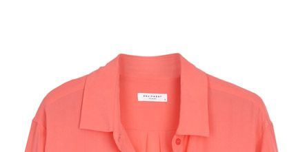 Clothing, Product, Collar, Sleeve, Red, Textile, White, Orange, Pink, Magenta,