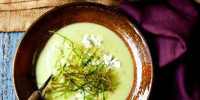 Leek And Potato Soup With Goats Cheese Recipe