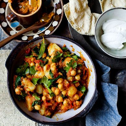 Dish, Food, Cuisine, Ingredient, Chickpea, Chana masala, Produce, Vegetarian food, Recipe, Staple food,