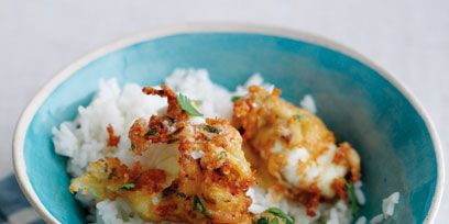 Food, Cuisine, Dishware, Dish, Ingredient, Serveware, Recipe, Tableware, Steamed rice, Rice,
