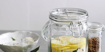 Food, Yellow, Ingredient, Citrus, Lemon, Produce, Mason jar, Food storage containers, Fruit, Meyer lemon,