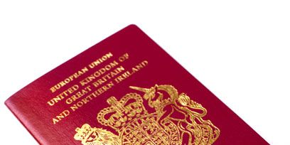 Identity document, Red, Passport, Publication, Book, Material property, Book cover, Document,