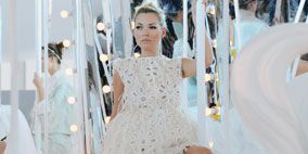 Product, White, Dress, Style, Fashion accessory, Fashion, Thigh, One-piece garment, Fashion design, Necklace,