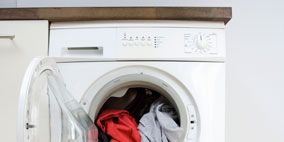 Washing machine, Clothes dryer, Major appliance, Arch, Laundry, Laundry room, Home appliance, Plastic, Machine, Glove,
