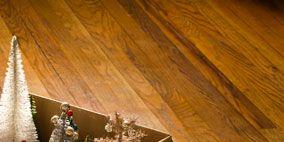 Wood, Hardwood, Floor, Flooring, Wood flooring, Wood stain, Laminate flooring, Christmas decoration, Plywood, Christmas tree,