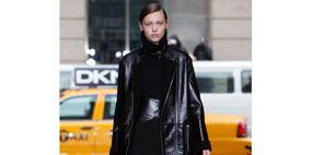 Yellow, Photograph, Style, Street fashion, Fashion, Leather, Black, Vehicle door, Jacket, Snapshot,