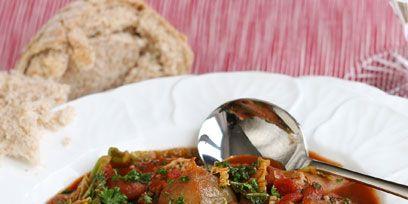 Food, Dish, Cuisine, Meal, Meat, Ingredient, Tableware, Recipe, Kitchen utensil, Stew,