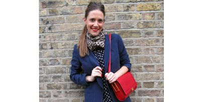 Bag, Outerwear, Pattern, Style, Street fashion, Fashion accessory, Electric blue, Fashion, Luggage and bags, Maroon,
