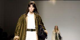 Clothing, Leg, Human, Product, Brown, Human body, Shoulder, Textile, Fashion show, Photograph,