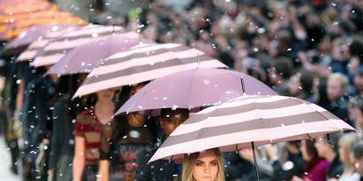 Winter, Street fashion, Umbrella, Fashion, Precipitation, Rain, Freezing, Snow, Costume, Fashion design,