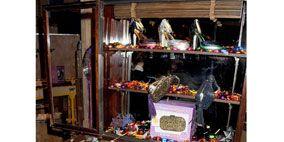 Box, Shelf, Shelving, Display case, Baggage, Collection,