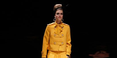 Clothing, Fashion show, Human body, Human leg, Runway, Outerwear, Fashion model, Style, Fashion, Knee,