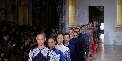 Community, Fashion, Tradition, Hall, Fashion design, Curtain, One-piece garment, Ceremony, Haute couture,