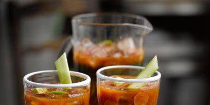 Food, Glass, Alcoholic beverage, Drinkware, Drink, Cocktail, Tableware, Liquid, Fluid, Stemware,